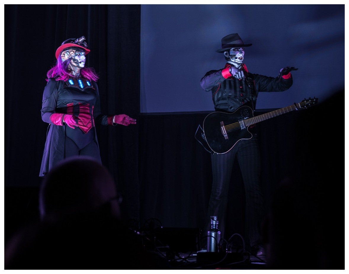 Rabbit and The Spine from Steam Powered Giraffe