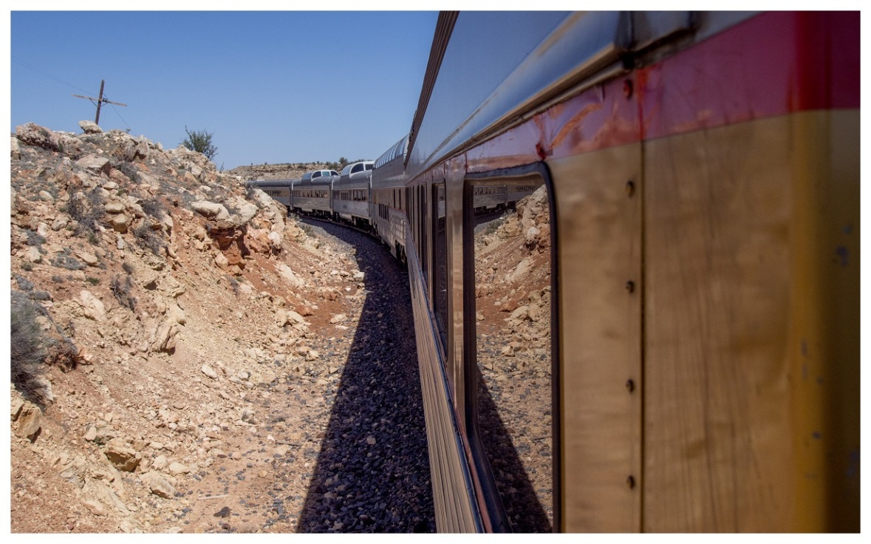 Grand Canyon Railway Train