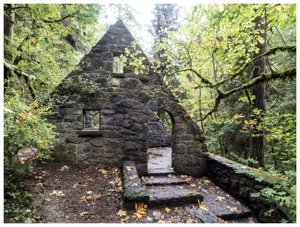 Stone House in Portland's Forest Park