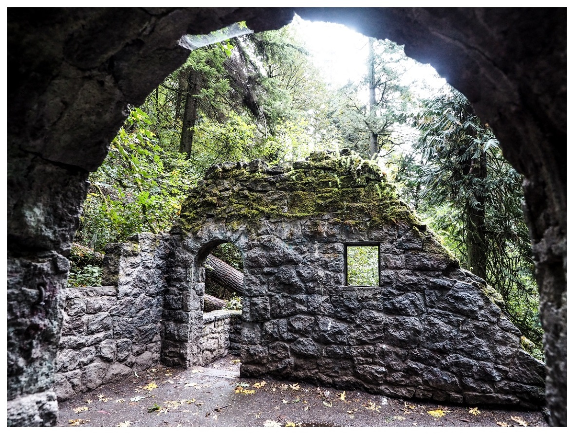 Abandoned Stone House in Portland
