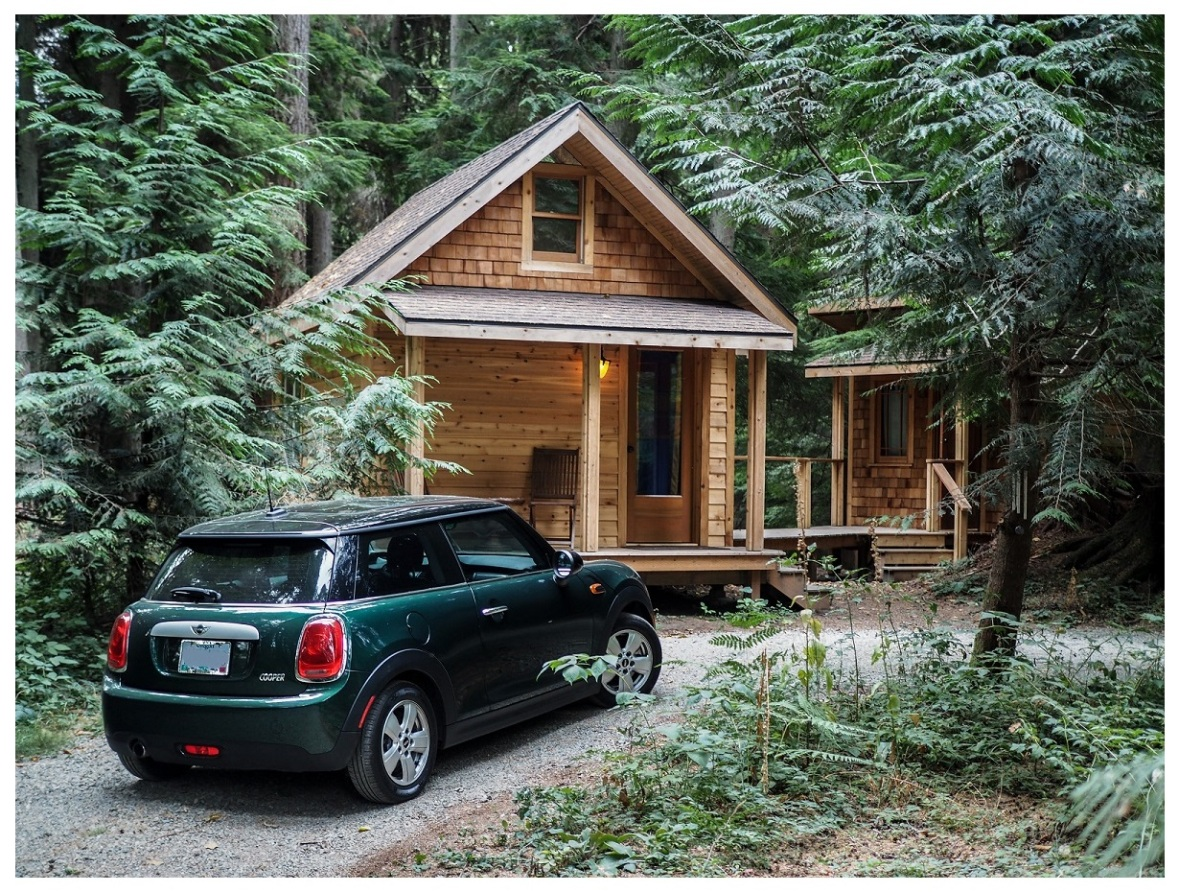 My Mini Cooper on Vashon Island
