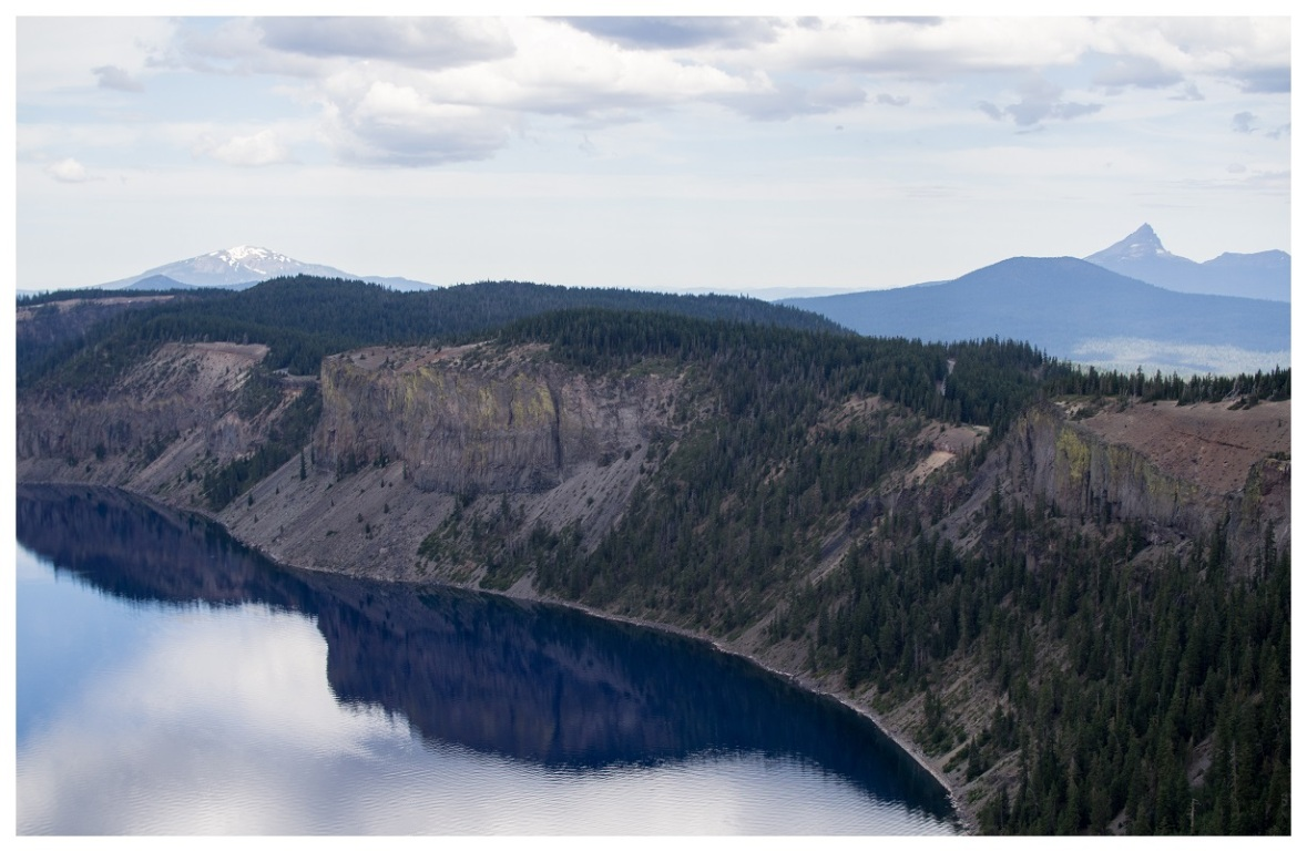 Across Crater Lake