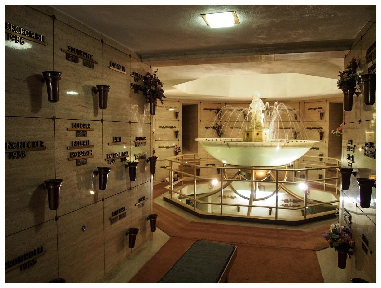Fountain in Portland Mausoleum