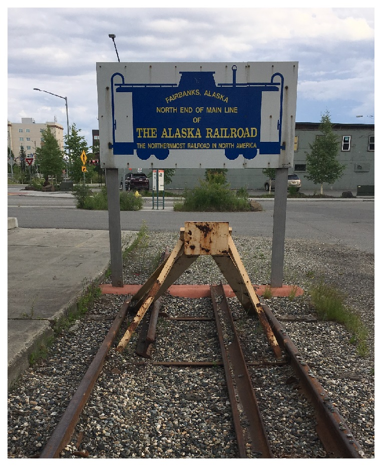 nothern end of the alaska railroad